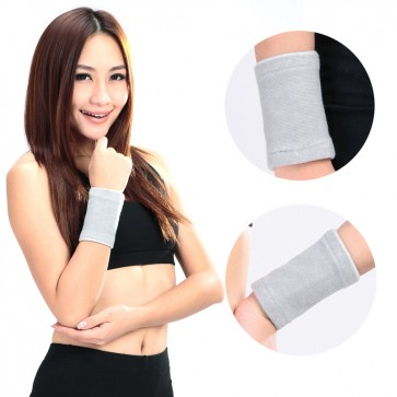 1 Pair Power Ionics Bamboo charcoal Fiber Wrist Brace