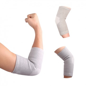 1 Pair Power Ionics Bamboo charcoal Fiber Elbow Brace