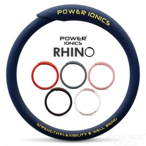 New Power Ionics RHINO Unisex Waterproof Ions and Germanium Sports Fashion Bracelet Bangle
