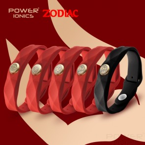 Power Ionics Prism Zodic Angel OX Unisex Waterproof Ions and Germanium Sports Bracelet