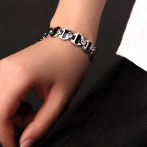 Power Ionics Womens Crystal Magnetic Bracelet